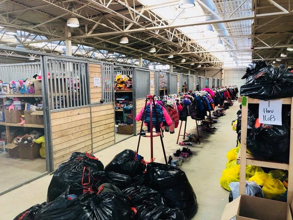 Salvation Army Angel Tree Warehouse