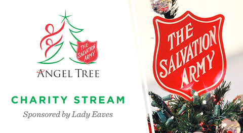 Salvation Army Angel Tree Charity Stream