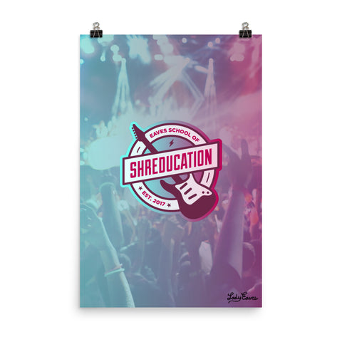 Shreducation Poster 24x36