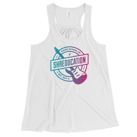 Women's Shreducation Flowy Racerback Tank