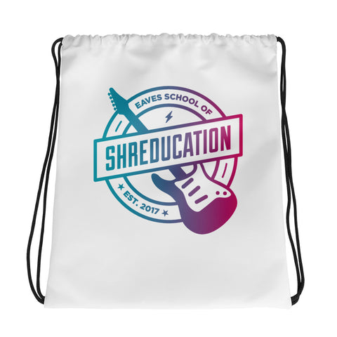 Shreducation Drawstring Bag