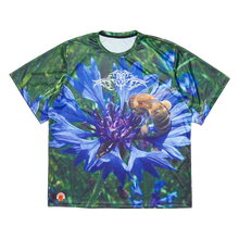 Flower Bee T-Shirt with reflective print