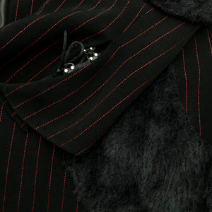 Jacket with Fur Details