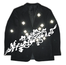"""Smoke Among The Stars"" Jacket with print"
