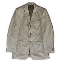 """Physical Interface"" Suit Jacket With Transparent Cape"