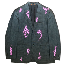 Chiveskella Suit Jacket With Tribal Print