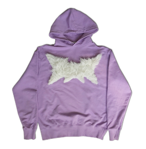 Completely Unreadable Cute Metal Logo Hoodie