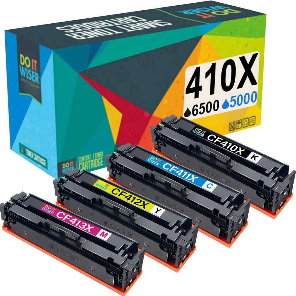 Compatible HP 410X Toner Set High Yield by Do it Wiser
