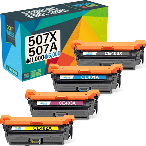 Compatible HP LaserJet Enterprise 500 Color M551dn Toner Set High Yield by Do it Wiser