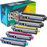 Compatible Brother TN221 Toner 5 Pack High Yield by Do it Wiser