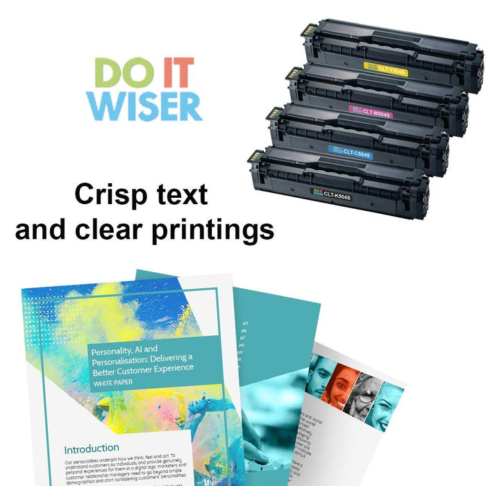 Compatible Samsung SL-C1860FW Toner Set by Do it Wiser