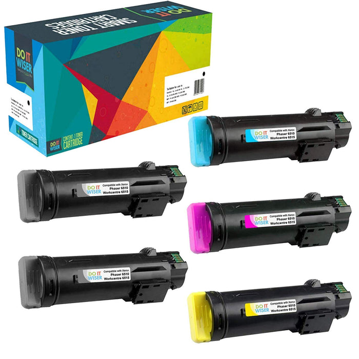 Xerox WorkCentre 6515 Toner 5pack High Yield