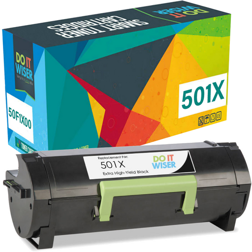 Lexmark MS510dn Toner Black Extra High Yield