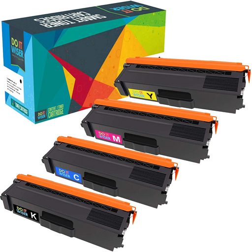 Compatible Brother MFC-9460CDN Toner Set High Yield by Do it Wiser