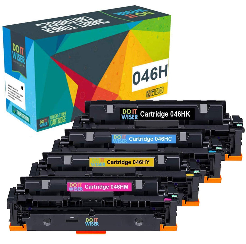 Canon Color ImageCLASS LBP654Cx Toner Set High Yield