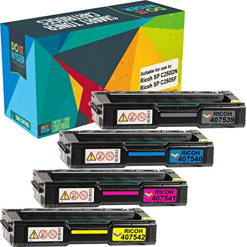 Ricoh SP C250DN Toner Set High Yield
