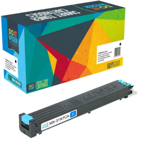 Sharp MX 31NT Toner Cyan High Yield