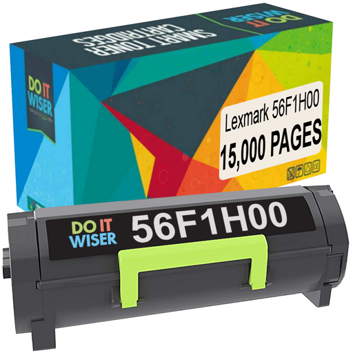 Compatible Lexmark MS421dn Toner Black High Yield by Do it Wiser