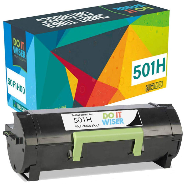 Lexmark MS610dn Toner Black High Yield