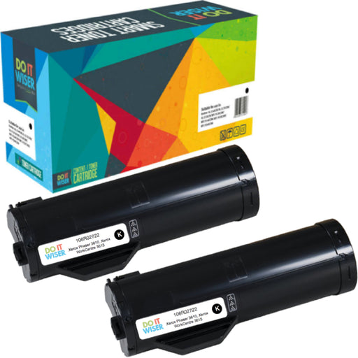 Xerox Phaser 3610DN Toner Black 2pack High Yield