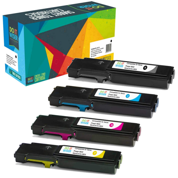 Xerox WorkCentre 6605dn Toner Set High Yield