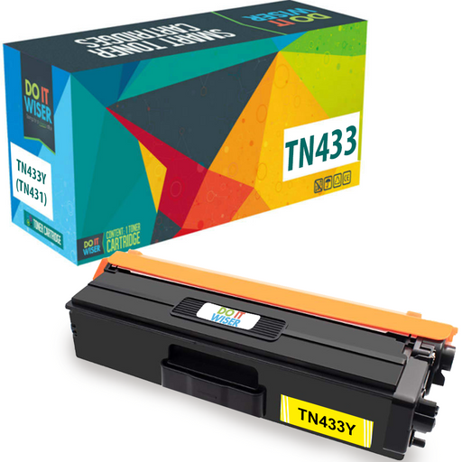 Brother TN433 Toner Yellow High Yield