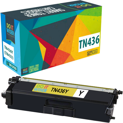 Brother TN436 Toner Yellow Extra High Yield