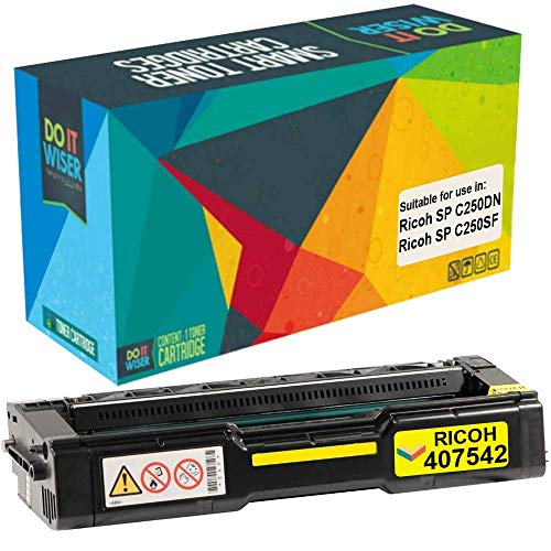 Ricoh SP C250DN Toner Yellow High Yield