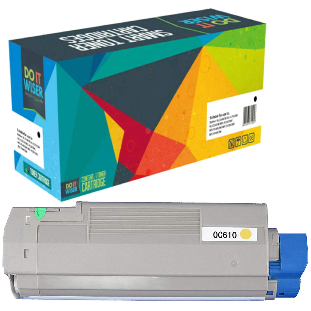 OKI C610cdn Toner Yellow