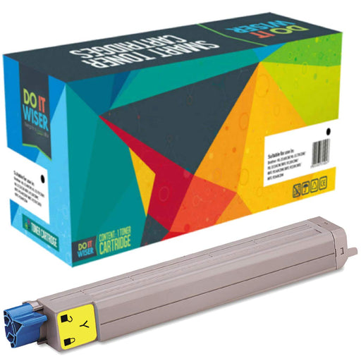 OKI C9600N Toner Yellow