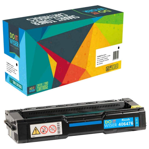 Ricoh SP C312DN Toner Cyan High Yield