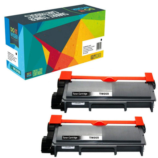 Brother DCP L2500D Toner Black 2pack High Yield