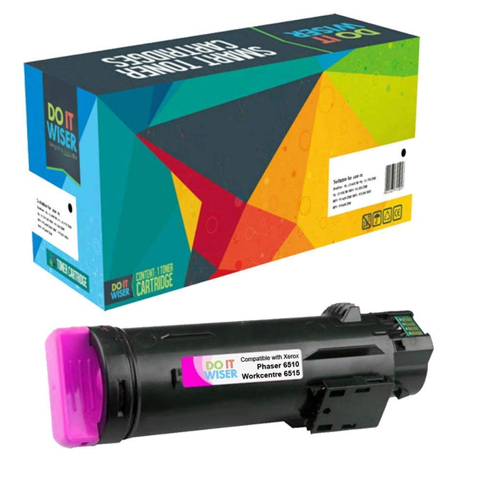 Compatible Xerox Phaser 6510 Toner Set High Yield by Do it Wiser