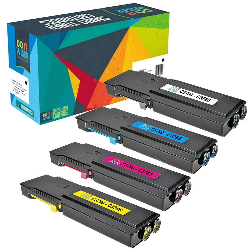 Dell C3760dn Toner Set Extra High Yield