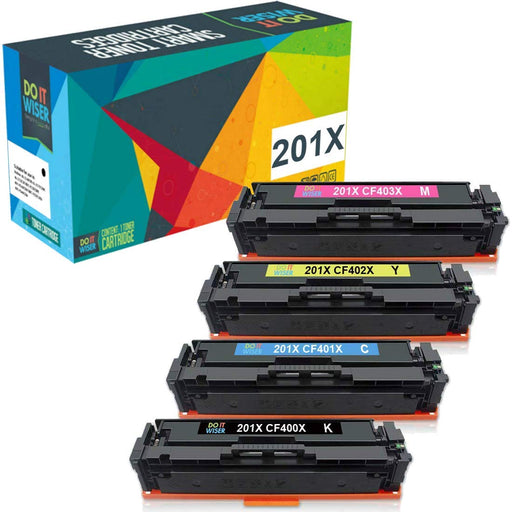 HP 201X Toner Set High Yield