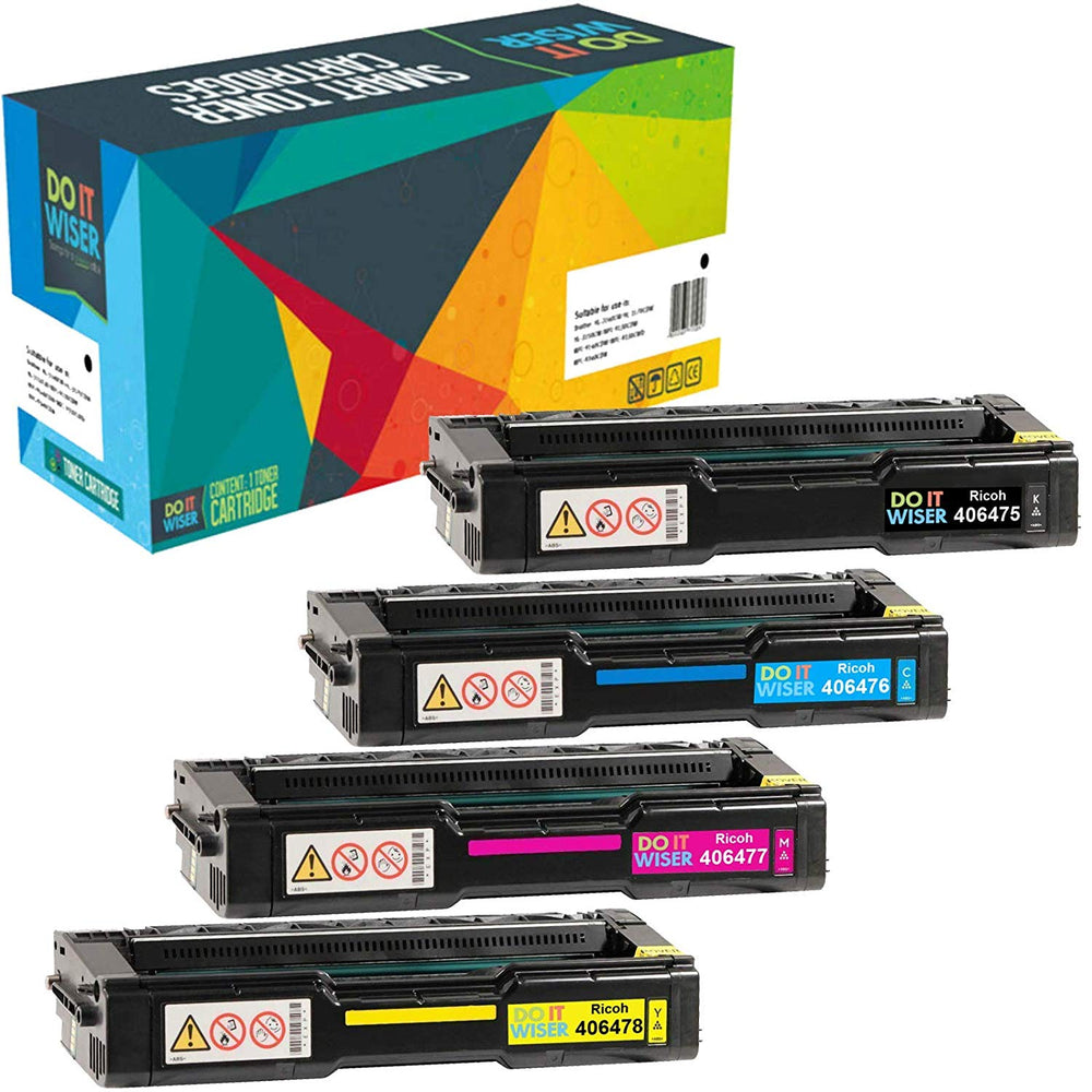 Ricoh SP C312DN Toner Set High Yield