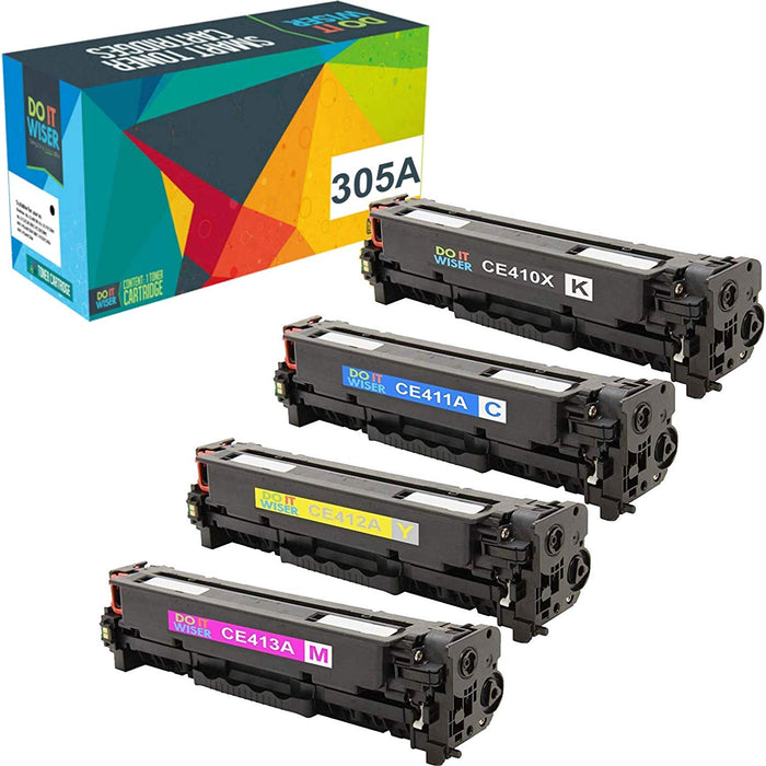 HP LaserJet Pro 400 Color M451dn Toner Set