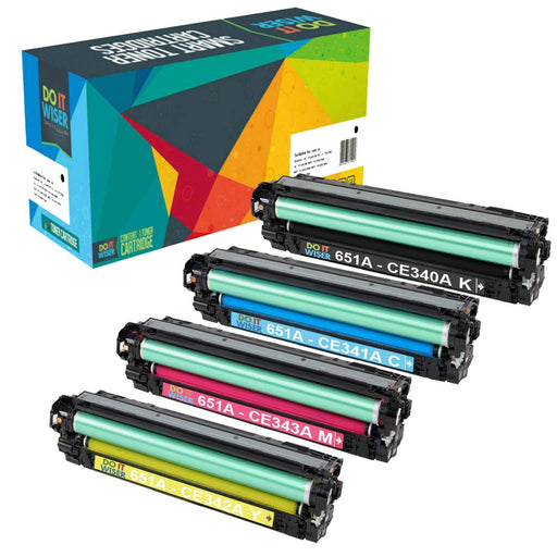 HP 651A Toner Set