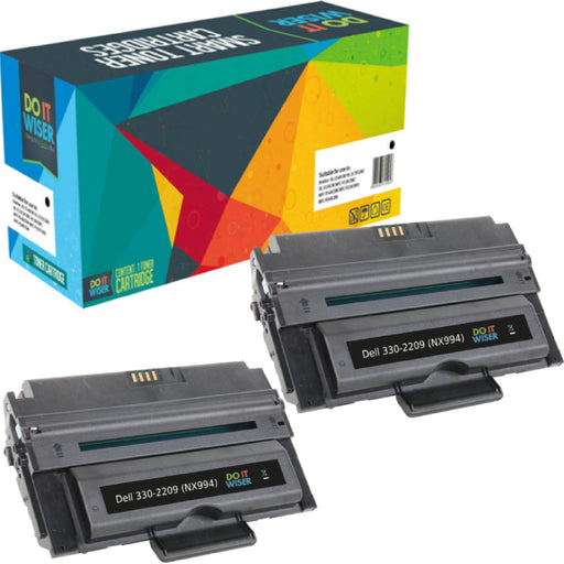 Dell 2355dn Toner Black 2pack