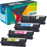 Brother MFC L8900CDW Toner Set Extra High Yield