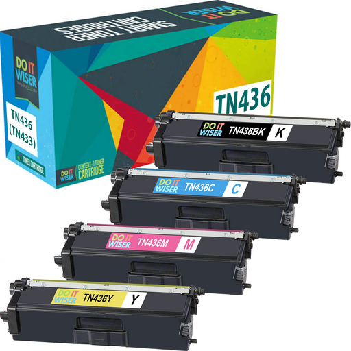 Brother TN436 Toner Set Extra High Yield