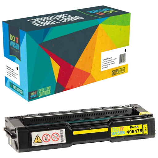 Ricoh SP C312DN Toner Yellow High Yield