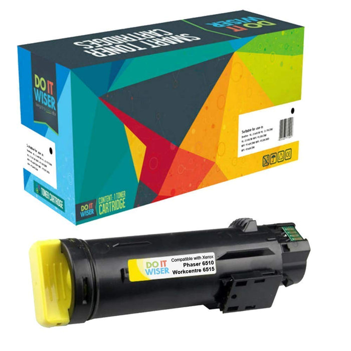 Compatible Xerox WorkCentre 6515 Toner Set High Yield by Do it Wiser