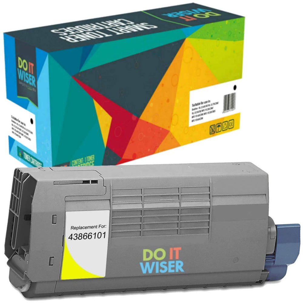 OKI C711DN Toner Yellow