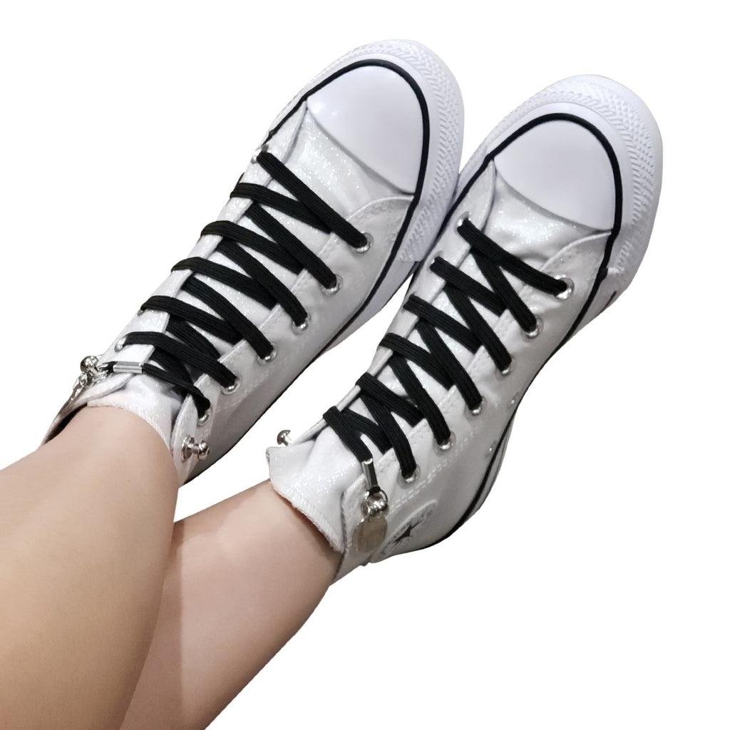 How to Tie Converse Without Laces Showing for High & Low Top Sneakers: Here's the Secret