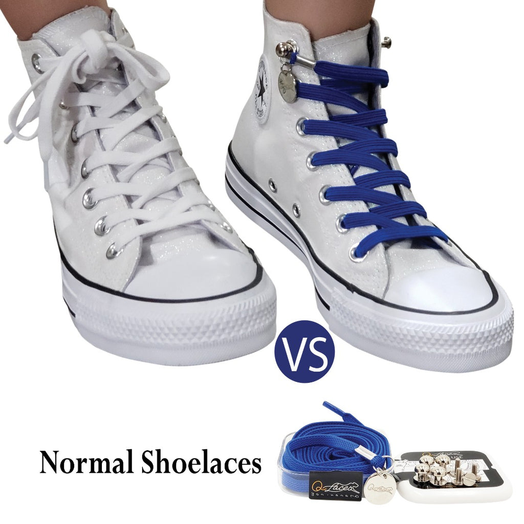 No Tie Shoelaces for Converse - Look Nicer & Never Have to Tie Your Shoe