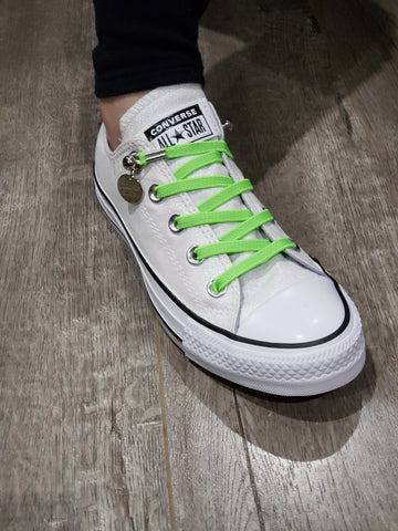 how long are low top converse laces