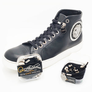 Nylon No Tie Shoelaces by Qlaces