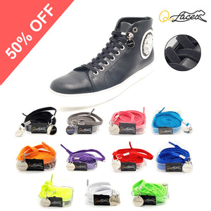 Elastic No Tie Shoelaces by Qlaces