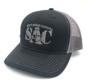 Short Action Customs Snapback Trucker Cap